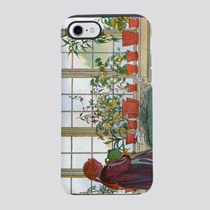 Flowers on the Windowsill by C iPhone 7 Tough Case