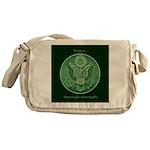Peace Through Strength Messenger Bag