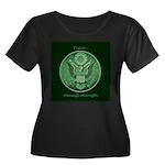 Peace Through Strength Plus Size T-Shirt