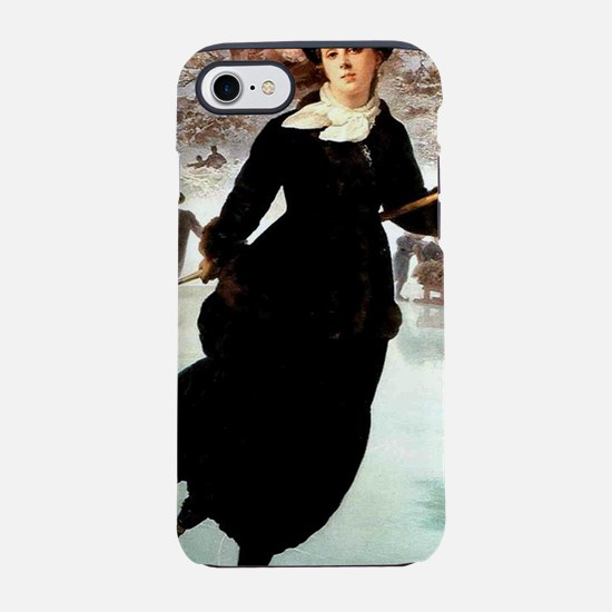 lce skating art iPhone 7 Tough Case