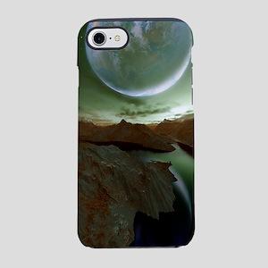 Alien landscape, artwork iPhone 7 Tough Case