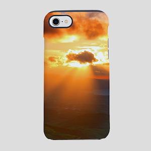 Inspirational heaven sunset iPhone 7 Tough Case