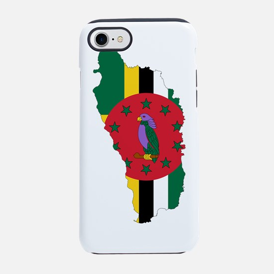 Dominica.png iPhone 7 Tough Case