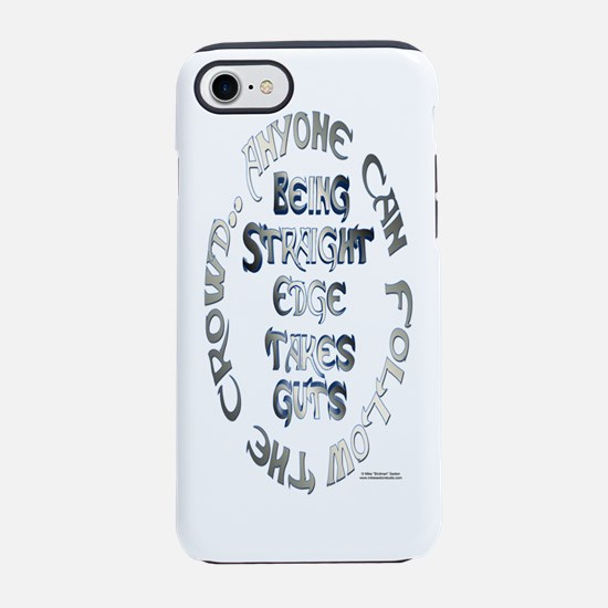 StraightEdgeGuts_Bottle.png iPhone 7 Tough Case