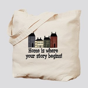 Home Story Tote Bag