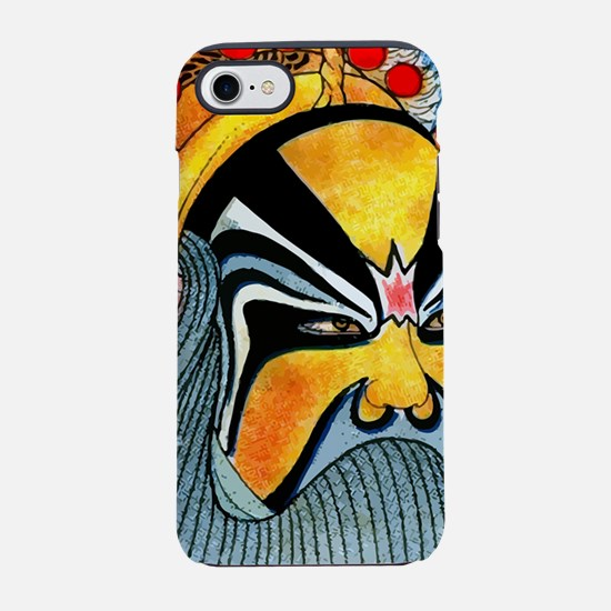 Antique 1920 Chinese Opera Mas iPhone 7 Tough Case