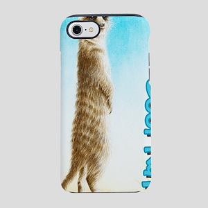 Meerkat Standing iPhone 7 Tough Case