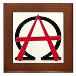 Christain Anarchy Framed Tile