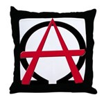 Christain Anarchy Throw Pillow