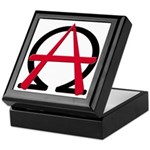 Christain Anarchy Keepsake Box