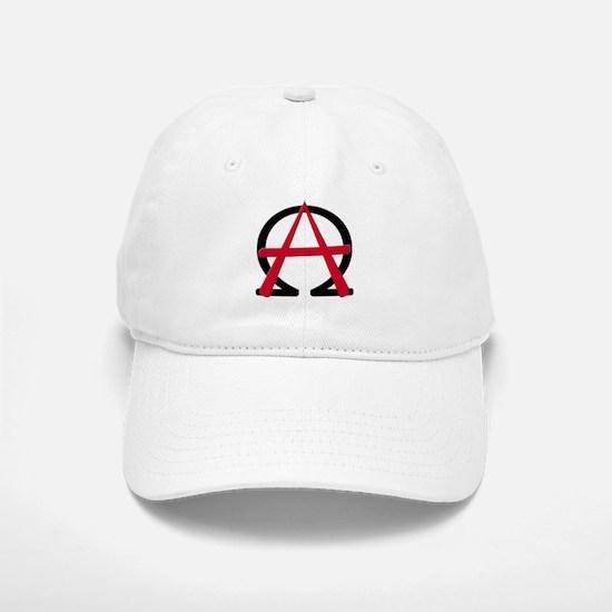 Christain Anarchy Baseball Baseball Cap
