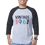 vintage Mens Baseball Tee
