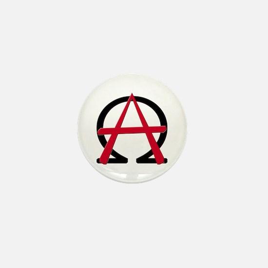 Christain Anarchy Mini Button
