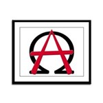 Christain Anarchy Framed Panel Print