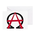 Christain Anarchy Greeting Cards (Pk of 10)