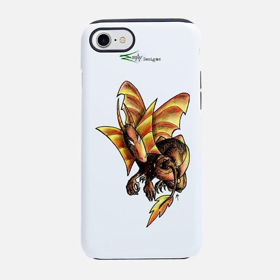 MT - Bébé dragon avec logo - F iPhone 7 Tough Case