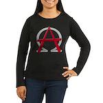 Christain Anarchy Women's Long Sleeve Dark T-Shirt