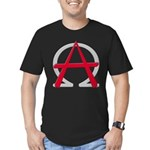 Christain Anarchy Men's Fitted T-Shirt (dark)