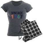 vintage Women's Charcoal Pajamas
