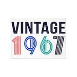 vintage 5'x7'Area Rug