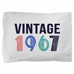 vintage Pillow Sham