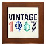 vintage Framed Tile