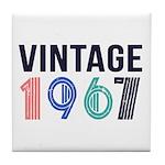 vintage Tile Coaster