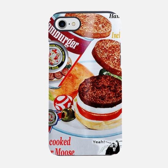 Hamburger iPhone 7 Tough Case