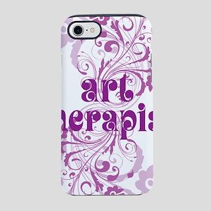art therapist swirl iPhone 7 Tough Case