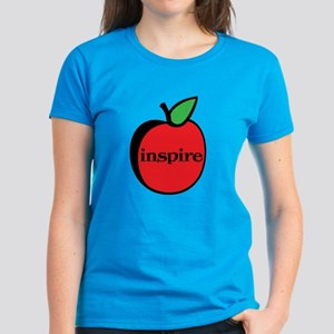 Teachers Inspire Women's Dark T-Shirt