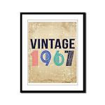 vintage Framed Panel Print