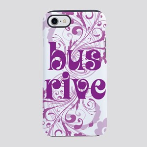 bus driver swirl iPhone 7 Tough Case