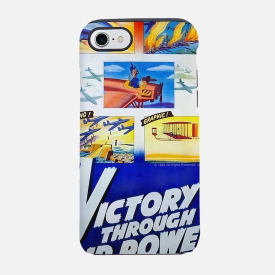 Victory Through Air Power iPhone 7 Tough Case