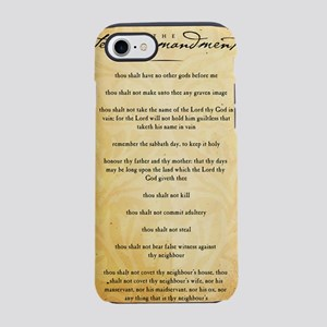 The Ten Commandments iPhone 7 Tough Case