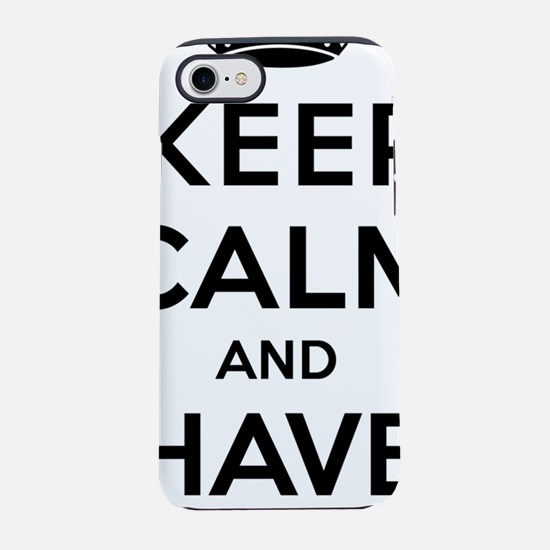 Keep Calm and Have a Pint iPhone 7 Tough Case