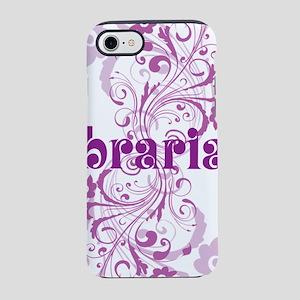 librarian swirl iPhone 7 Tough Case