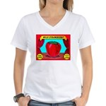 Produce Sideshow Women's V-Neck T-Shirt