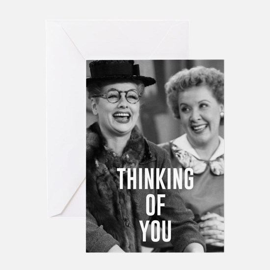 Thinking of You Friends Greeting Card