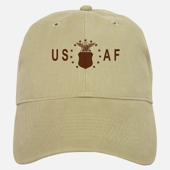 Air Force<BR> Khaki Baseball Baseball Cap