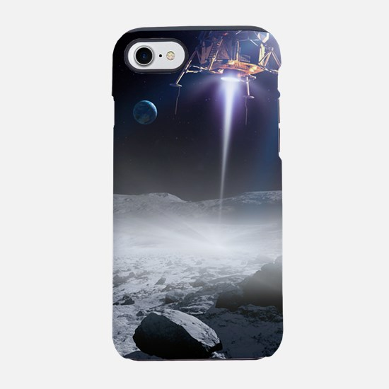 Apollo 11 Moon landing, artwor iPhone 7 Tough Case