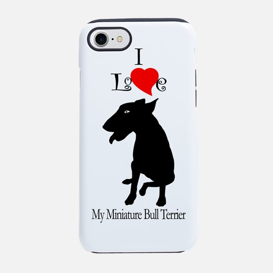 miniature bull terrier.png iPhone 7 Tough Case