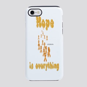 HOpe4LeukemiaBottle iPhone 7 Tough Case
