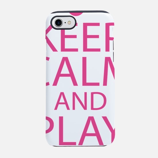 Baritone Keep Calm and Play On iPhone 7 Tough Case