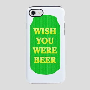 Humor_WishYou WereBeer_trans.p iPhone 7 Tough Case