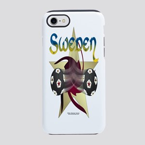 Bottle_SwedenStarSoccer iPhone 7 Tough Case