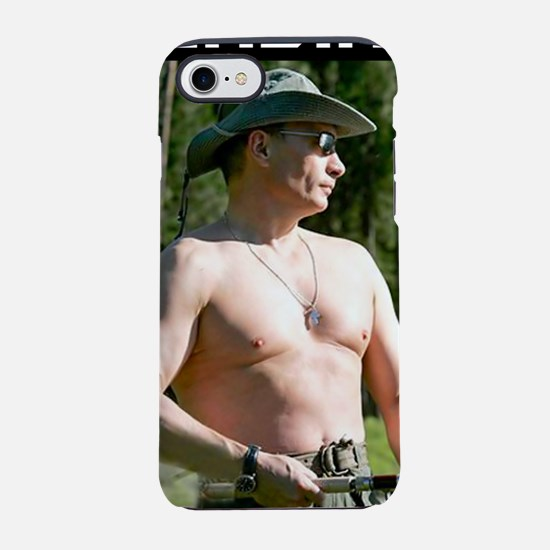 2-realman on black.jpg iPhone 7 Tough Case