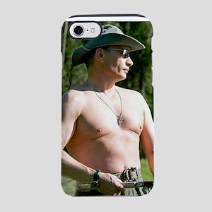 2-realman on white iPhone 7 Tough Case