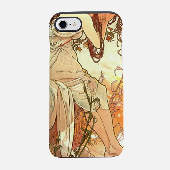 Mucha Summer 1896.png iPhone 7 Tough Case