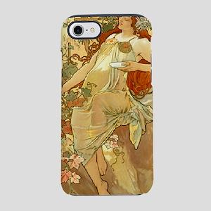 Mucha Autumn 1896 iPhone 7 Tough Case