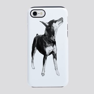 Miniature Pinscher Sketch iPhone 7 Tough Case